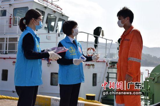 广东惠州海事局学雷锋志愿者服务队开展志愿服务